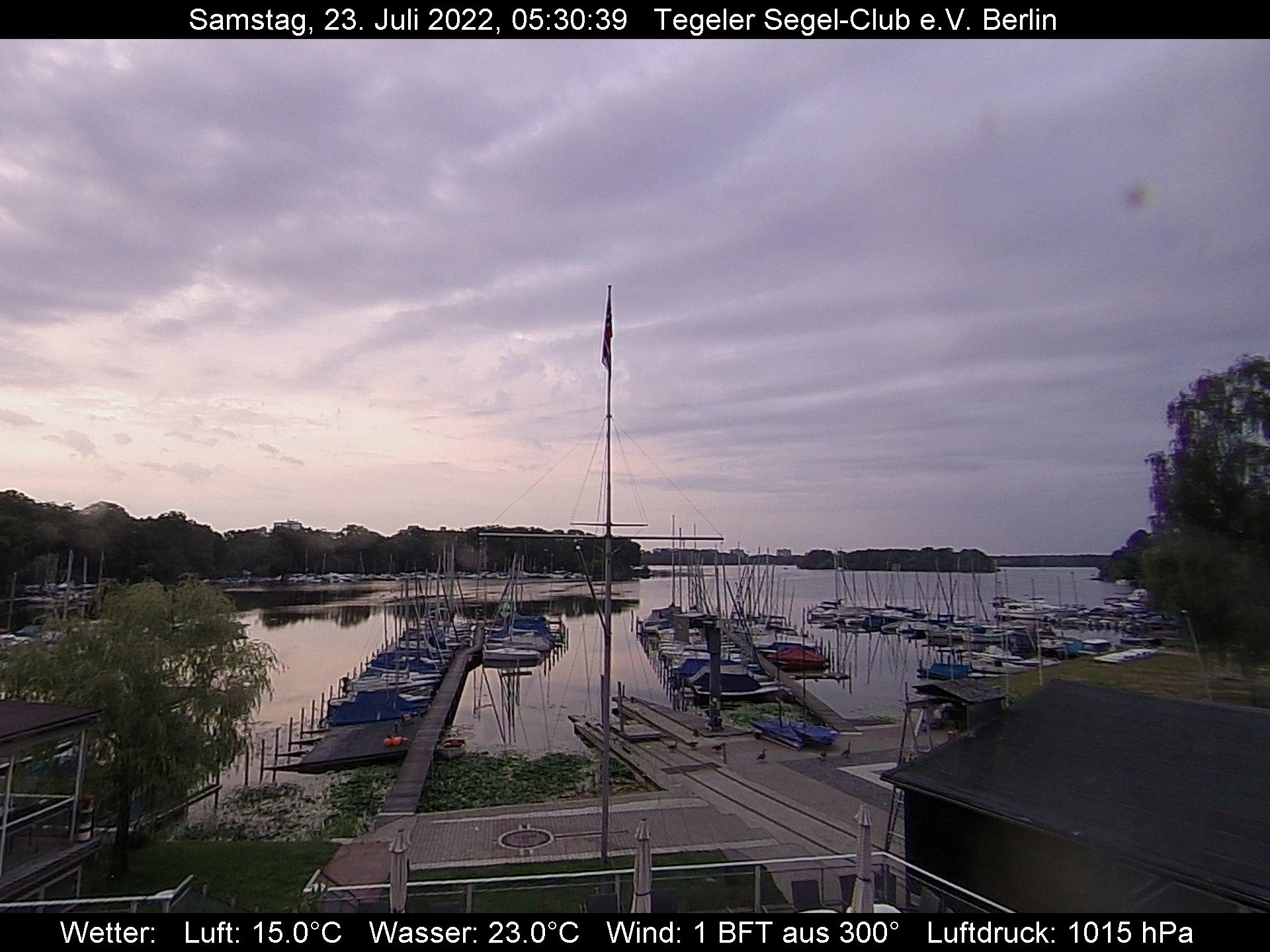 webcam Tegelersee Berlin