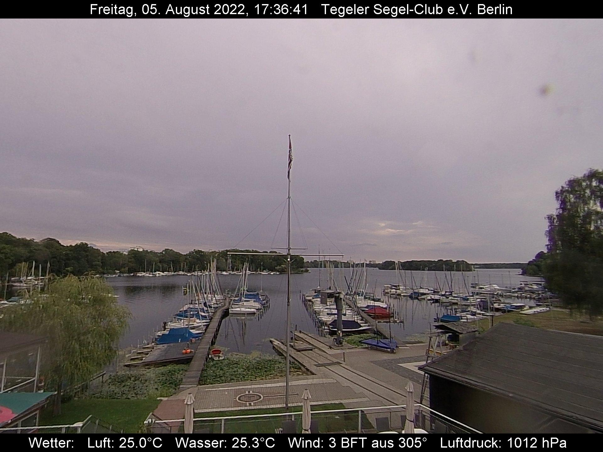 Webcam Tegeler Segelclub