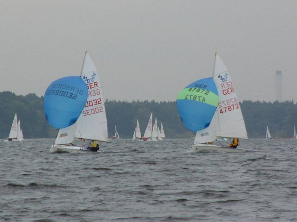 Internationale Deutsche Meisterschaft der 420er im TSC