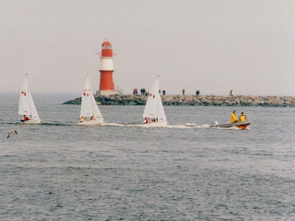 Teeny/Opti-Trainingslager in Warnemünde (Ostern)