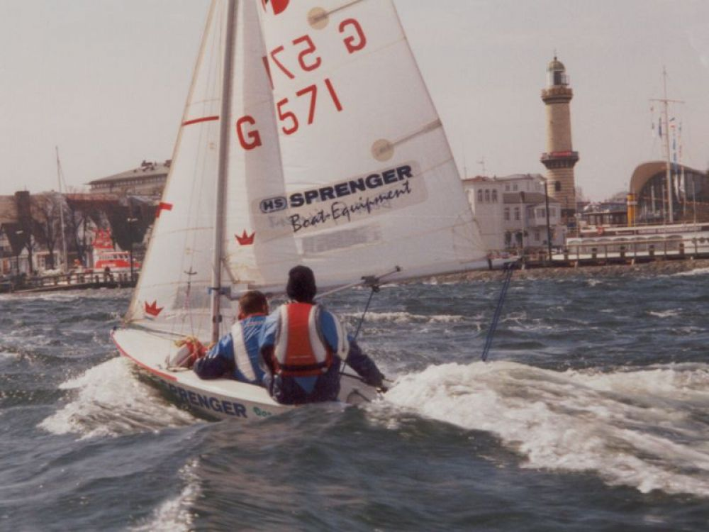 Opti-, Teeny-, 420er-Trainingslager in Warnemünde (Ostern)